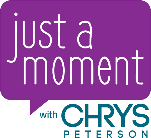 Just A Moment - Logo