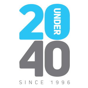 20 Under 40 - Logo