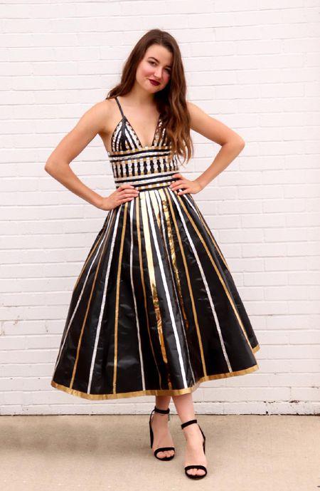 Maya Ramirez Duct Tape Dress